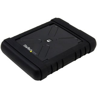 "Startech.Com 2.5"" Usb 3.0 Hard Drive Enclosure – Rugged – Supports Uasp – Tool-Less – Ip54 – Ssd Usb External Hdd Enclso"