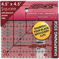 "4-1/2""X4-1/2"" - The Cutting Edge Frosted Ruler"