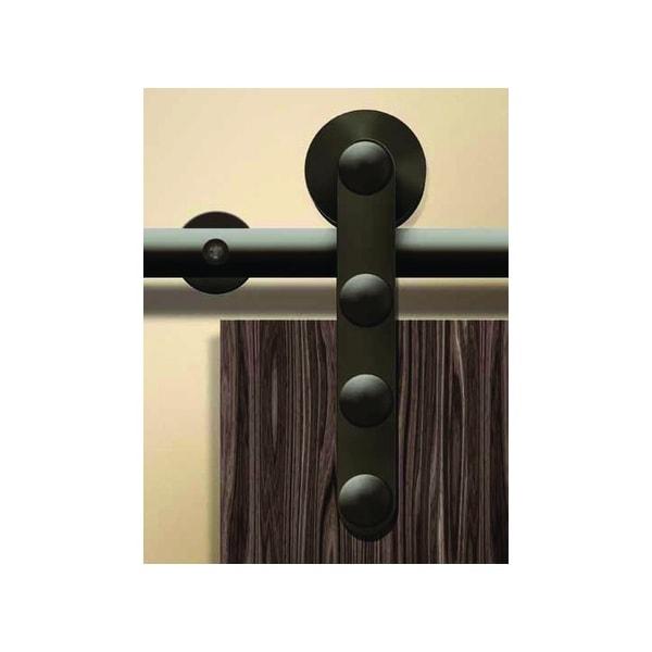 Hafele 941.07.186 Antra I Series 91 Inch Stainless Steel Barn Door Hardware  For