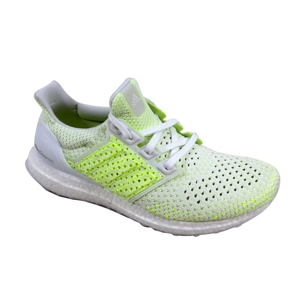 excellent quality fast delivery exclusive range Shop Adidas Men's UltraBoost Clima White/Solar Yellow Shock ...