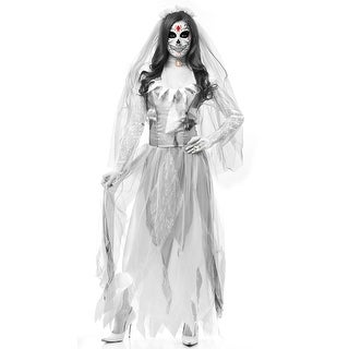 Ghost Bride Costume, Scary Bride Costume