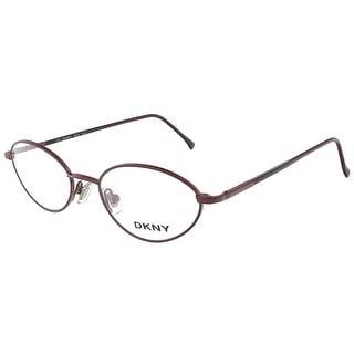 DKNY 6218 511 Shiny Eggplant/Matte Eggplant Oval Eyewear