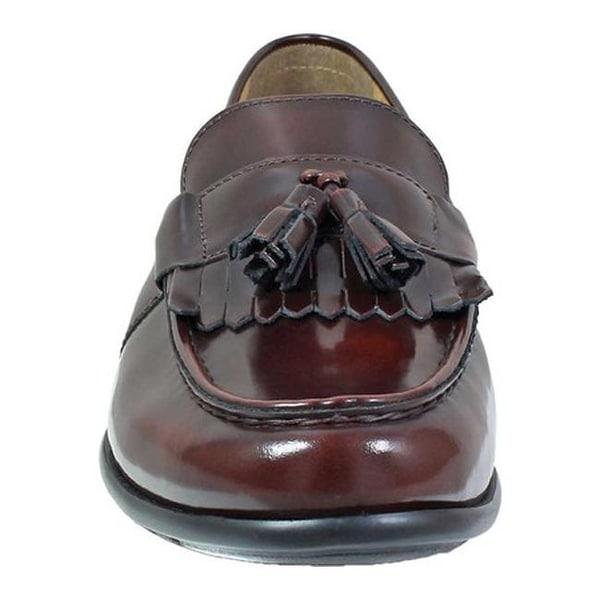 Denzel Kiltie Loafer Burgundy Leather