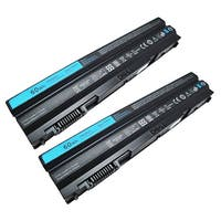 Replacement 4400mAh Battery For Dell 312-1242 / 37HGH Battery Models (2 Pack)
