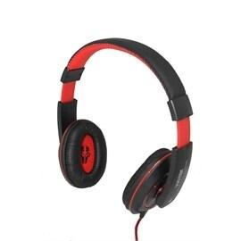 Viotek Multimedia R-849MV Analog Headphone/Microphone with Braided Wire 40mm Driver Black/Red Retail