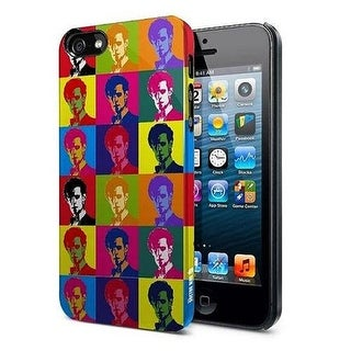 Doctor Who iPhone 5 Hard Snap Case 11th Doctor Warhol Treatment - multi
