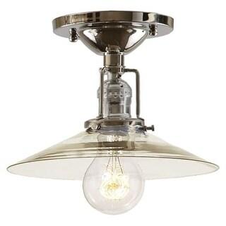 JVI Designs 1202-S1 Union Square One Light Flush Mount Ceiling Fixture