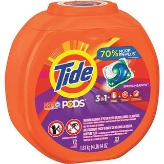 Procter & Gamble 72Ct Tide Pods Detergent 50978 Unit: EACH