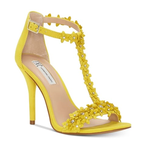 ed1416595f INC International Concepts Womens Rosiee Fabric Open Toe Casual Ankle Strap  S..