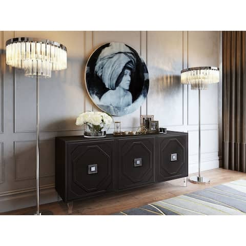 Andros Black Lacquer Buffet - N/A