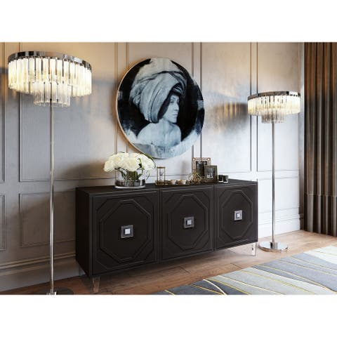Andros Black Lacquer Buffet