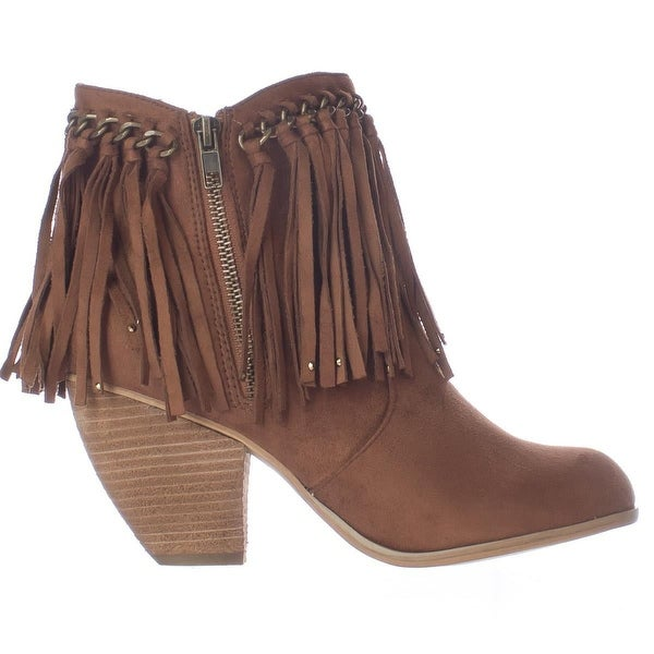 Not Rated Womens Aadila Closed Toe Ankle Fashion Boots, Tan, Size 7.0