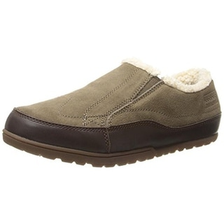 Patagonia Womens Activist Fleece Moc Suede Faux Fur Loafers