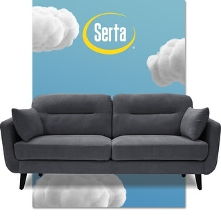 "Link to Serta Sierra Collection 61"" Mid-Century Loveseat Similar Items in Living Room Furniture"