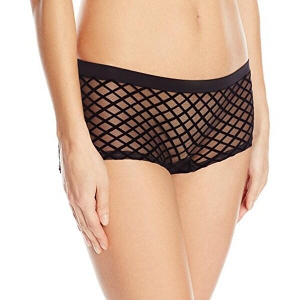 28047eb857f2 Shop Cosabella Womens Risque Boyshort Panty Brief Sheer - Free ...