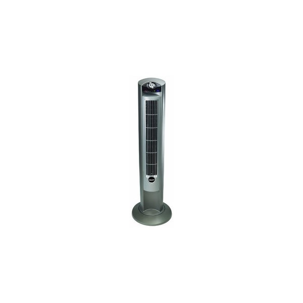 """""""Lasko Products 2551s Lasko 2551 Wind Curve Platinum Tower Fan With Remote Control and Fresh Air Ionizer"""""""