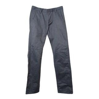 Dockers Men's Slim-Tapered Alpha Khaki Pants (Grey Heather, 31x32) - Grey Heather - 31x32