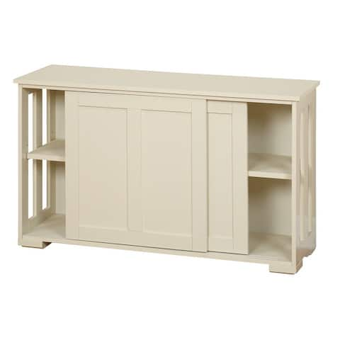 Porch & Den Jefferson Sliding Door Stackable Cabinet