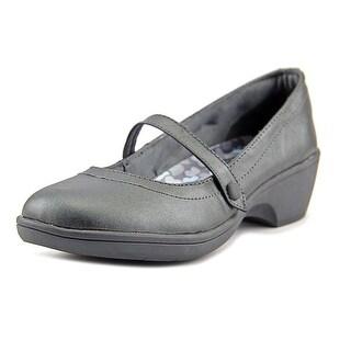 Skechers Flexibles-Staple Women Round Toe Synthetic Gray Mary Janes