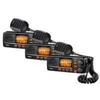 Uniden UM380BK 3-Pack Marine Radio with S.A.M.E. Weather Alert