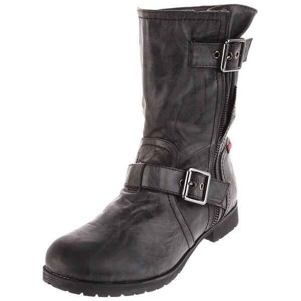 Rebels Womens Megawatt Closed Toe Ankle Riding Boots