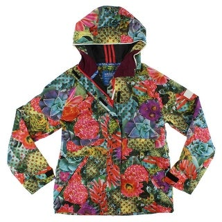 Adidas Womens Access 2L Snowboarding Jacket Multi Colored - multi colored