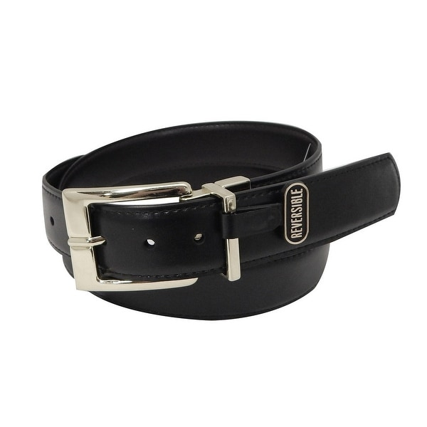 Danbury Western Belt Mens 32MM Reversible Black Brown