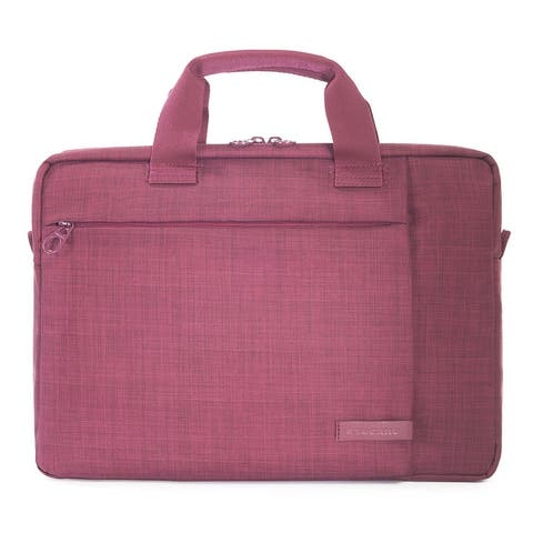 "Tucano Svolta Medium Water Resistant Slim Notebook Bag For Laptops Up To 14"""