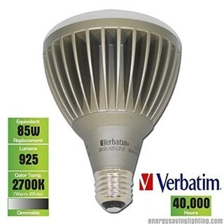 Verbatim VER98138 15 Watt Dimmable LED R & BR Lamp ENERGY STAR