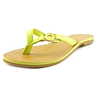 Sunny Feet Armin-32 Women Open Toe Synthetic Thong Sandal