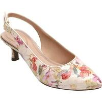 Rockport Women's Total Motion Kaiya Slingback Floral Leather