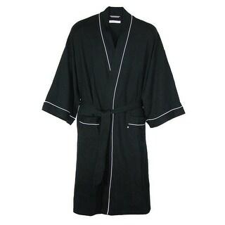 Geoffrey Beene Men's Waffle Knit Kimono Robe