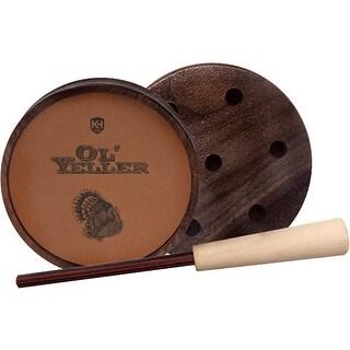 Knight & hale kht1010 knight & hale turkey call pot style ol'yeller classic slate!