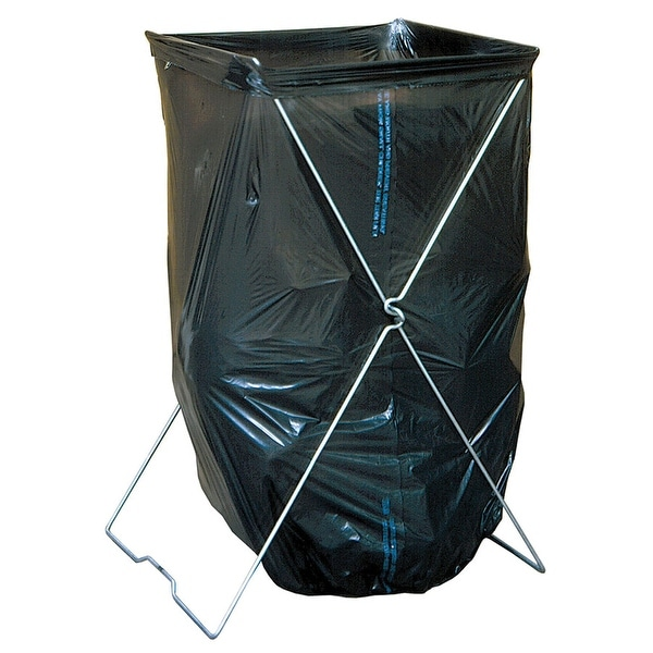 Bag Caddy Trash Stand Holds Bags Up To 39 Gallon Size Portable