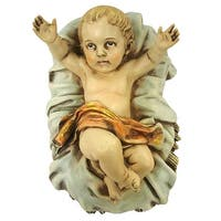 "7.75"" Joseph's Studio Baby Jesus Religious Christmas Nativity Statue - brown"