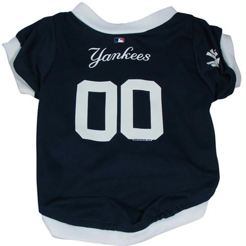 Shop New York Yankees Dog Jersey - Medium - Free Shipping On Orders Over   45 - Overstock.com - 20838498 64f0bb3a939