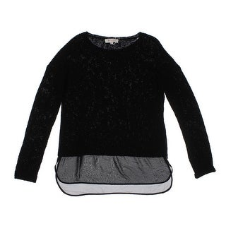 Two by Vince Camuto Womens Knit Dolman Sleeve Pullover Sweater - S