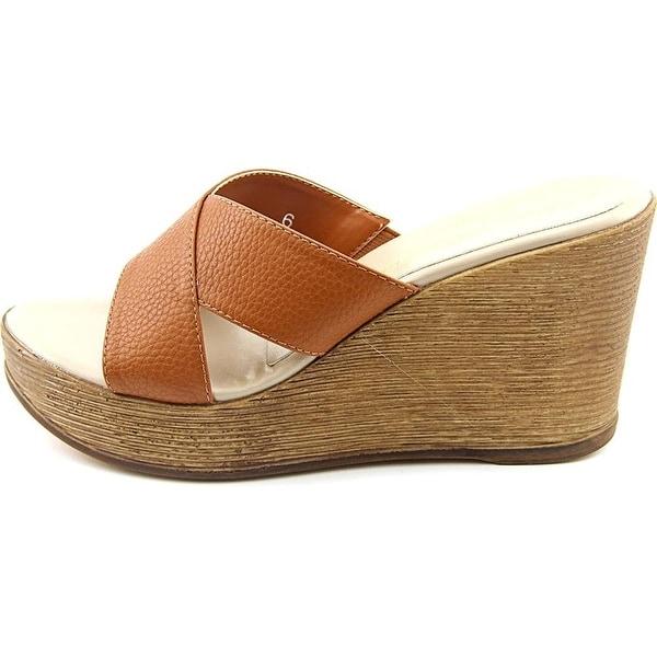 Athena Alexander Womens Reena Open Toe Casual Platform Sandals