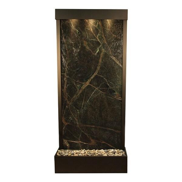 Adagio Tranquil River Fountain - Flush Mount - Antique Bronze - Choose Options