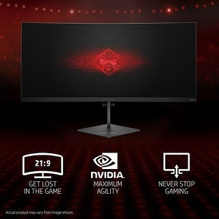 OMEN X 35 Curved Display 35 Inch LED LCD Monitor - 4 ms