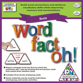Word Fact Oh Roots Game