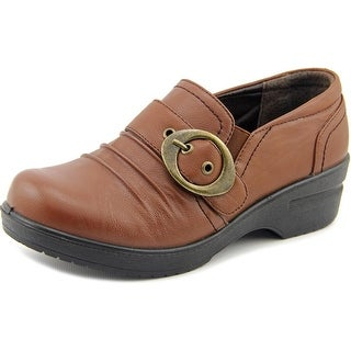 Easy Street Ode Women Round Toe Synthetic Tan Clogs