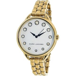 Marc Jacobs Women's Betty MJ3509 Gold Stainless-Steel Quartz Fashion Watch