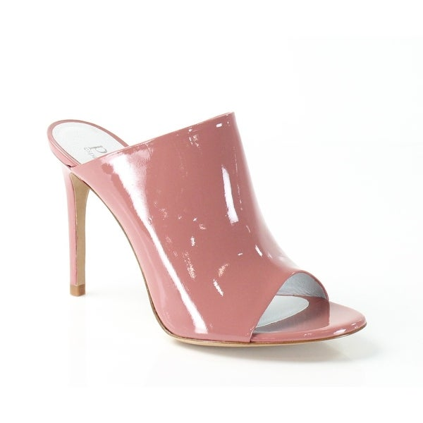 Pedro Garcia NEW Pink Shoes 9.5M Open Toe Patent Leather Heels