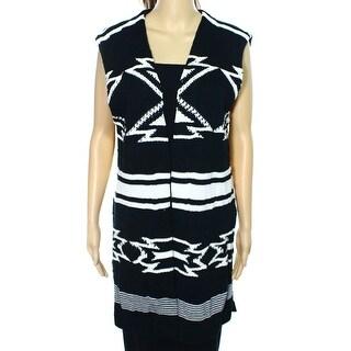 Lauren Ralph Lauren NEW Black Women's Size XL Vest Sleeveless Sweater