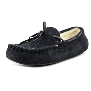 Silvare Moccasin Women  Round Toe Synthetic Black Slipper