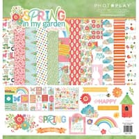 "Photoplay Collection Pack 12""X12""-Spring In My Garden"