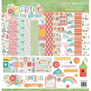 """Photoplay Collection Pack 12""""X12""""-Spring In My Garden"""