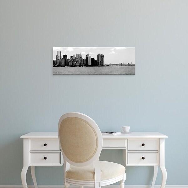 Easy Art Prints Jeff Pica's 'Panorama of NYC IV' Premium Canvas Art