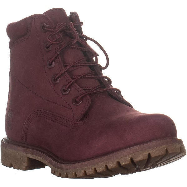 Timberland Waterville Waterproof Ankle Boots, Burgundy - 7.5 US / 38.5 EU